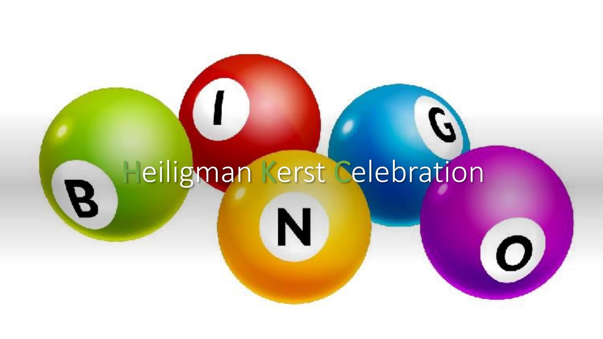 Heiligman Kerst Celebration   Bingo za 12 dec