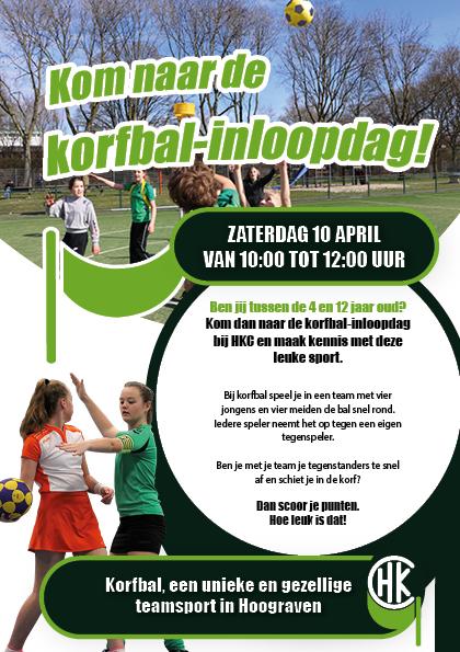 Kom naar de korfbal-inloopdag!