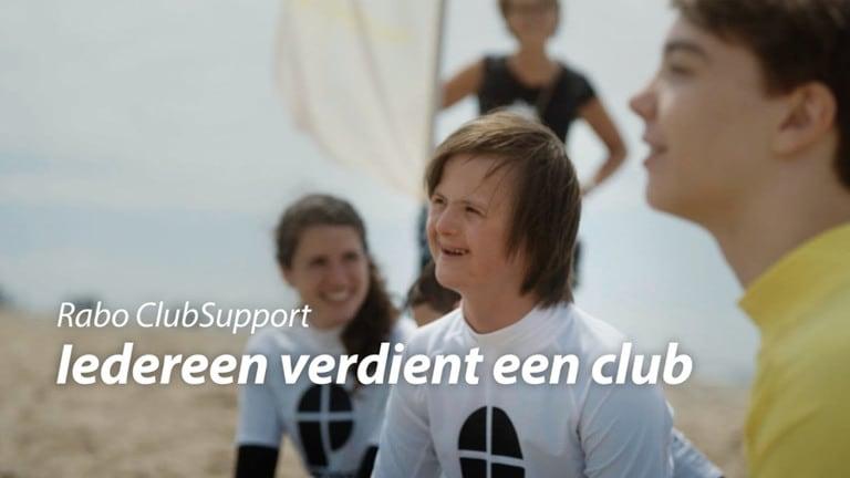 Wij doen dit jaar mee met Rabo ClubSupport!
